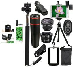10 in 1 Accessories Phone Camera Lens Top Travel Kit For Mob
