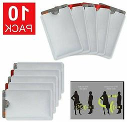 10-Pack Anti Theft Credit Card Protector RFID Blocking Safet