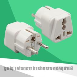 10A/250V Universal EU to Chinese Plug Power Socket Adapter T