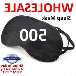 500 Lot Wholesale Sleep Eye Mask Soft Sleeping blindfold res