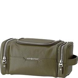 Samsonite- Leather Travel Accessories Dusk U-Zip Travel Kit