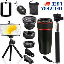 All in1 Accessories Phone Camera Lens Top Travel Kit For Sma