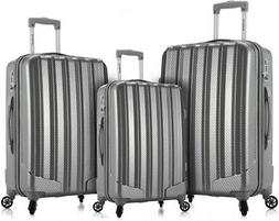 Rockland Barcelona 3 Polycarbonate/abs 6 Pc. Travel Set & Lu