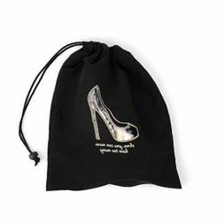 Miamica Black Clear Window Shoe Bag - Shoes... you can never