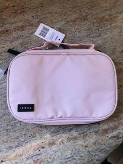 Verdi Blush Pink Travel Accessories Makeup Case NWT