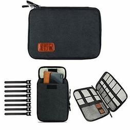 Cable Organizer Bag,Travel Electronics Accessories Case with
