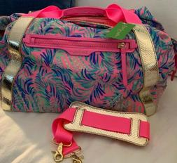 Lilly Pulitzer ~COCO BREEZE~ SUNSEEKERS Travel TOTE Bag ~SUN