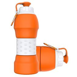 Collapsible Water Bottle,GITKARL,Travel Accessories,Lightwei