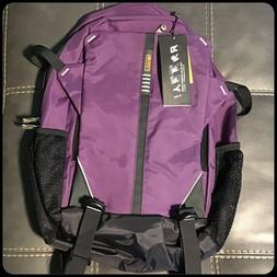 Sinpaid Computer Laptop Book Backpack Medium Purple