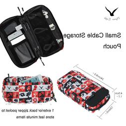 Cute Travel Cable Cord Organizer Electronics Accessories Bag