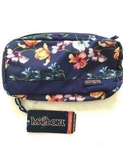 digital pouch pixel accessory organizer blue floral