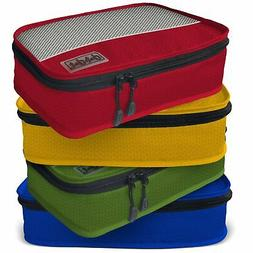Dot&Dot Small Packing Cubes for Travel - 4 Piece Luggage Acc