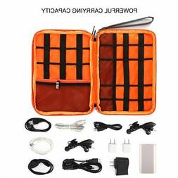 Double Layer Plus Size Travel Storage Bag Electronic Accesso