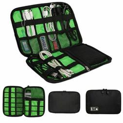 Electronic Accessories Cable USB Drive Organizer Case Portab