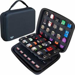 Electronic Accessories Travel Case for Hard Drive, Memory Ca
