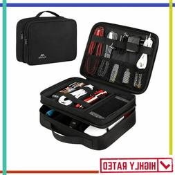 ELECTRONICS ORGANIZER Travel Accessories Case Portable Stora
