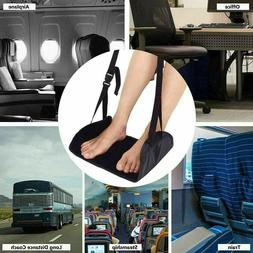 Foam Home Travel Footrest Hammock Comfy Adjustable Height Fo