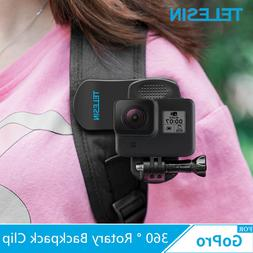 TELESIN For GoPro Hero Travel Accessories 360 ° Rotary Back
