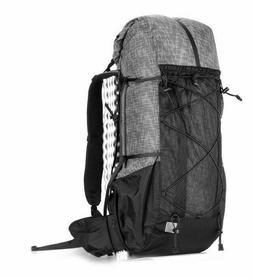 Hiking Backpack Lightweight Waterproof 56l Capacity Camping