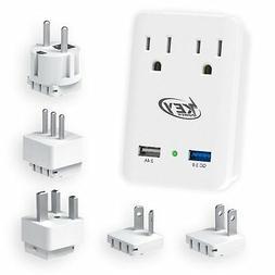 Key Power 2000W International Travel Adapter Kit – Feature