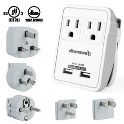 DEWENWILS International Travel Adapter Kit Universal Power P