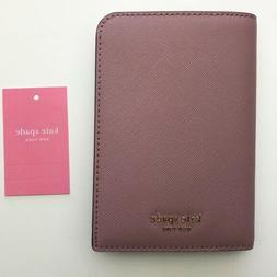 Kate Spade Wallet Pink Passport Travel ID Holder Accessories