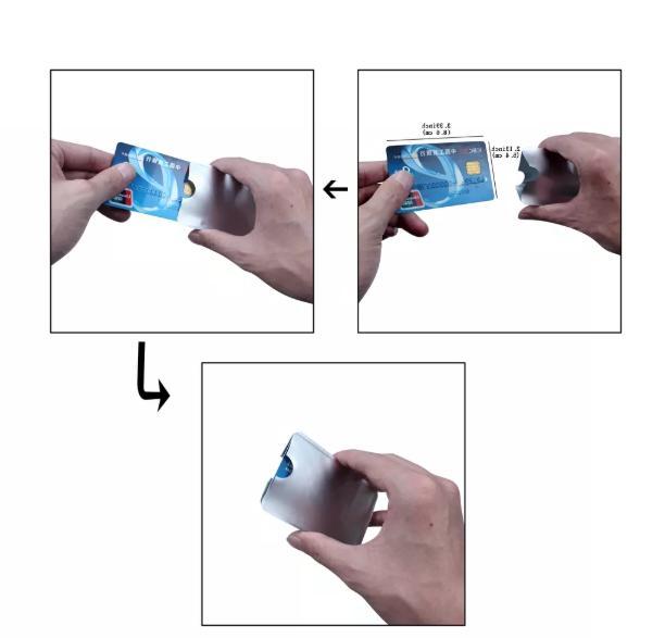12 Credit Card Blocking Sleeve