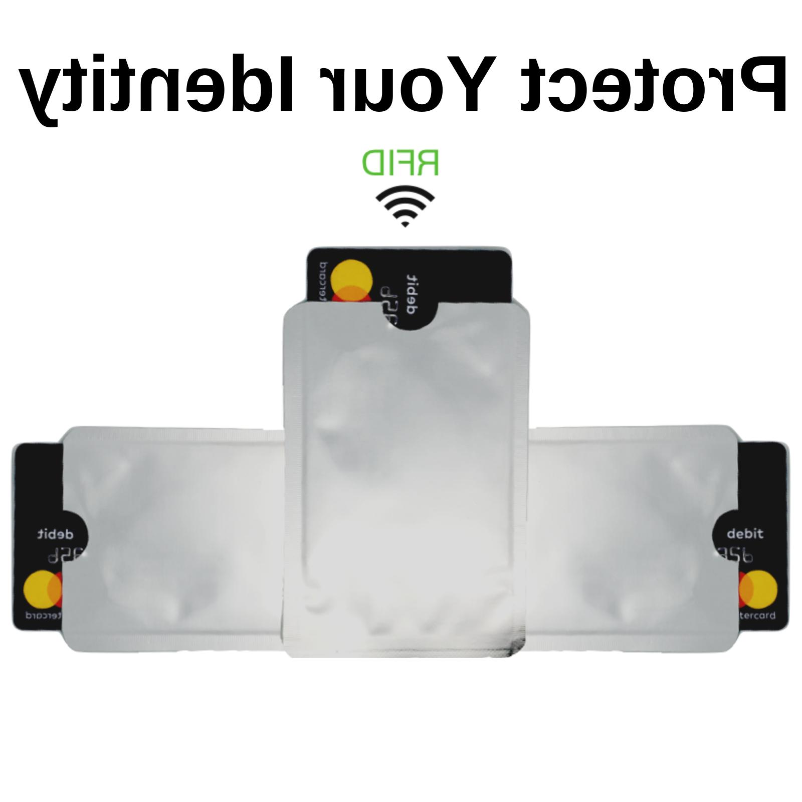 12 Pack Anti Theft Credit Card Protector RFID Blocking Safet