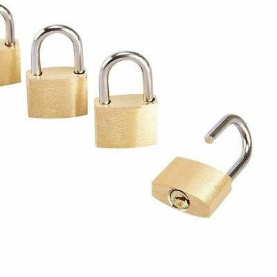 Juvale Luggage Locks with Keys, 0.7 x 1.2 0.25