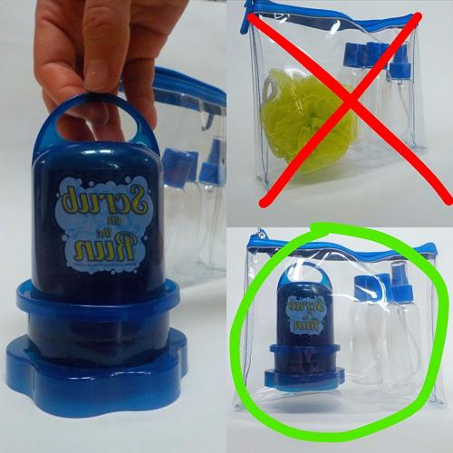 Scrub 2 Piece   Accessories   Travel  
