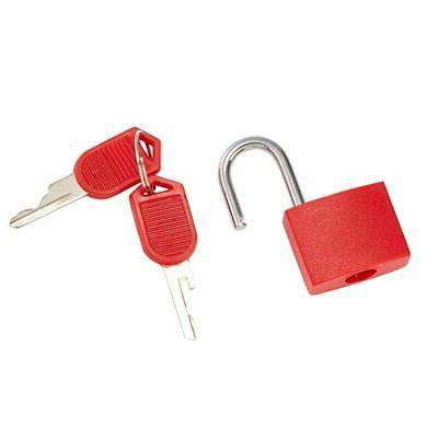 Juvale Mini Padlock Luggage Locks with Keys for Backpack Diary