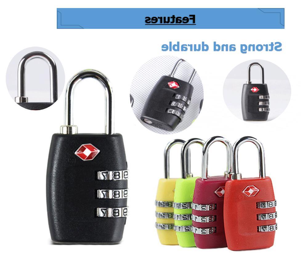 4x Luggage Suitcase 3 Combination