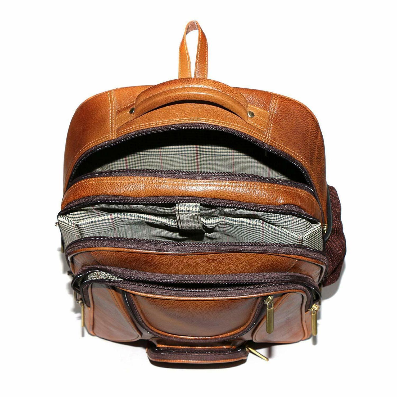 Jackmia Brown Backpack Travel Bag