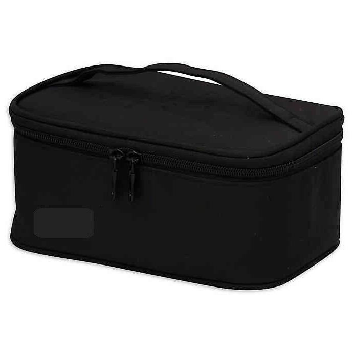 basics train case cosmetic toiletries shower bag