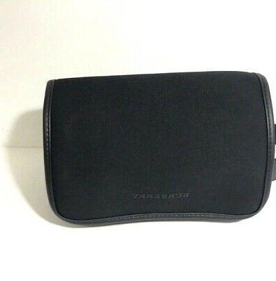 black handle pouch travel train case kit