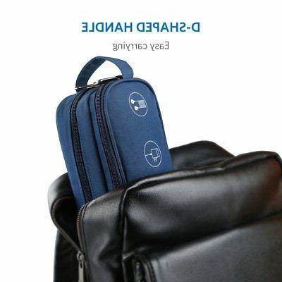 Inateck Portable Digital Storage Bag Electronics Accessories Organiser