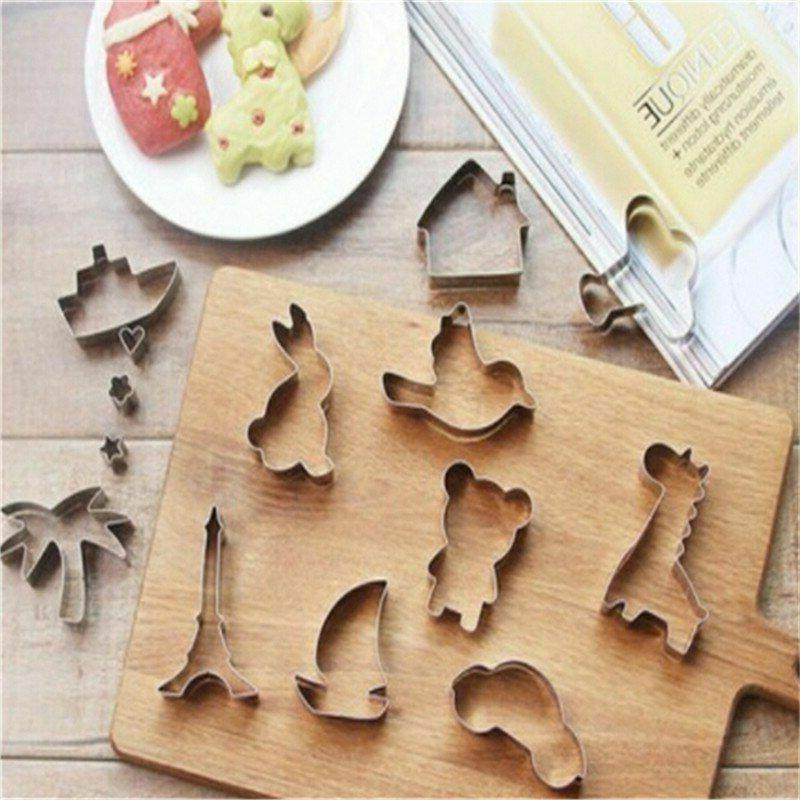 Cake Mold Stainless Steel Home Kitchen Baking Pastry Decorat