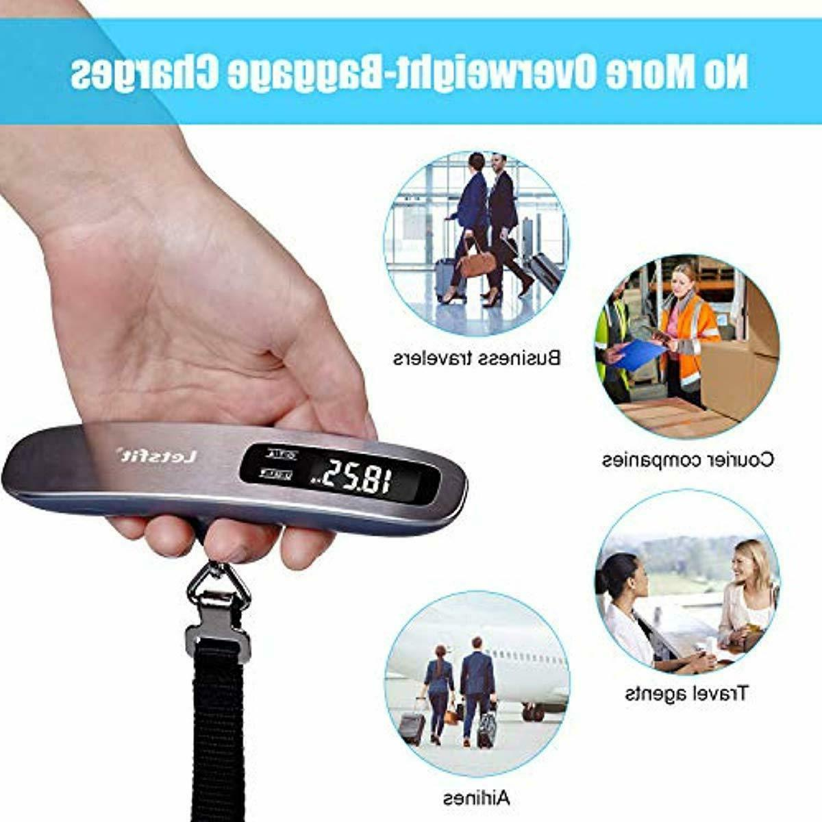 Letsfit Digital with Hook Tare