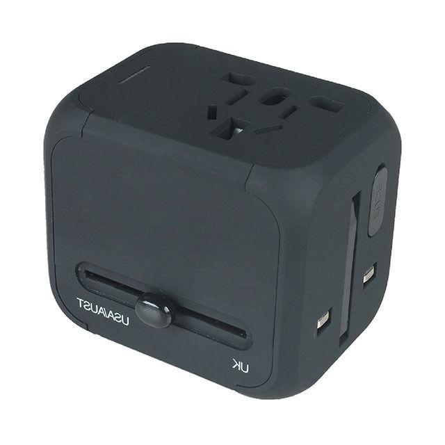 Dual AU/UK/US/EU Travel AC Power Charger Adapter Plug