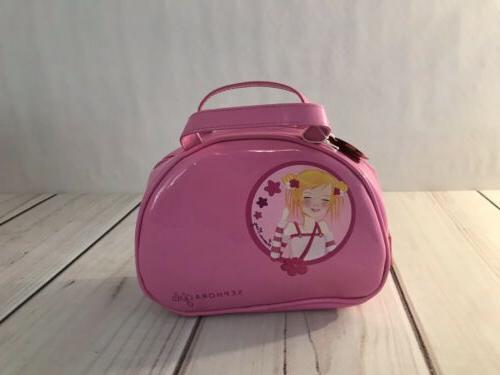 girls vanity case travel accessories makeup bag