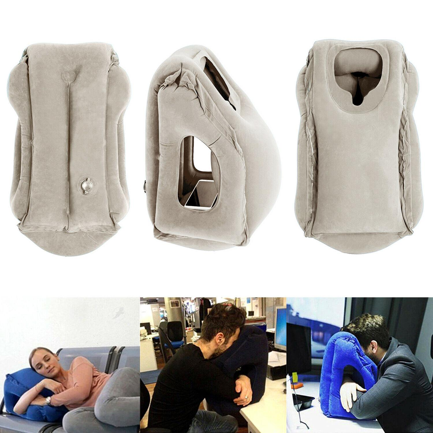 Inflatable Air Airplane Office Nap Neck Cushion