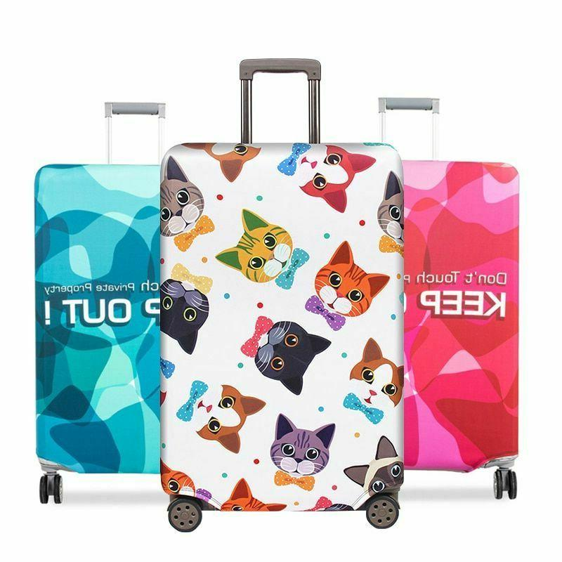 Luggage Cover Suitcase Protective Case Fabric Outdoor Travel