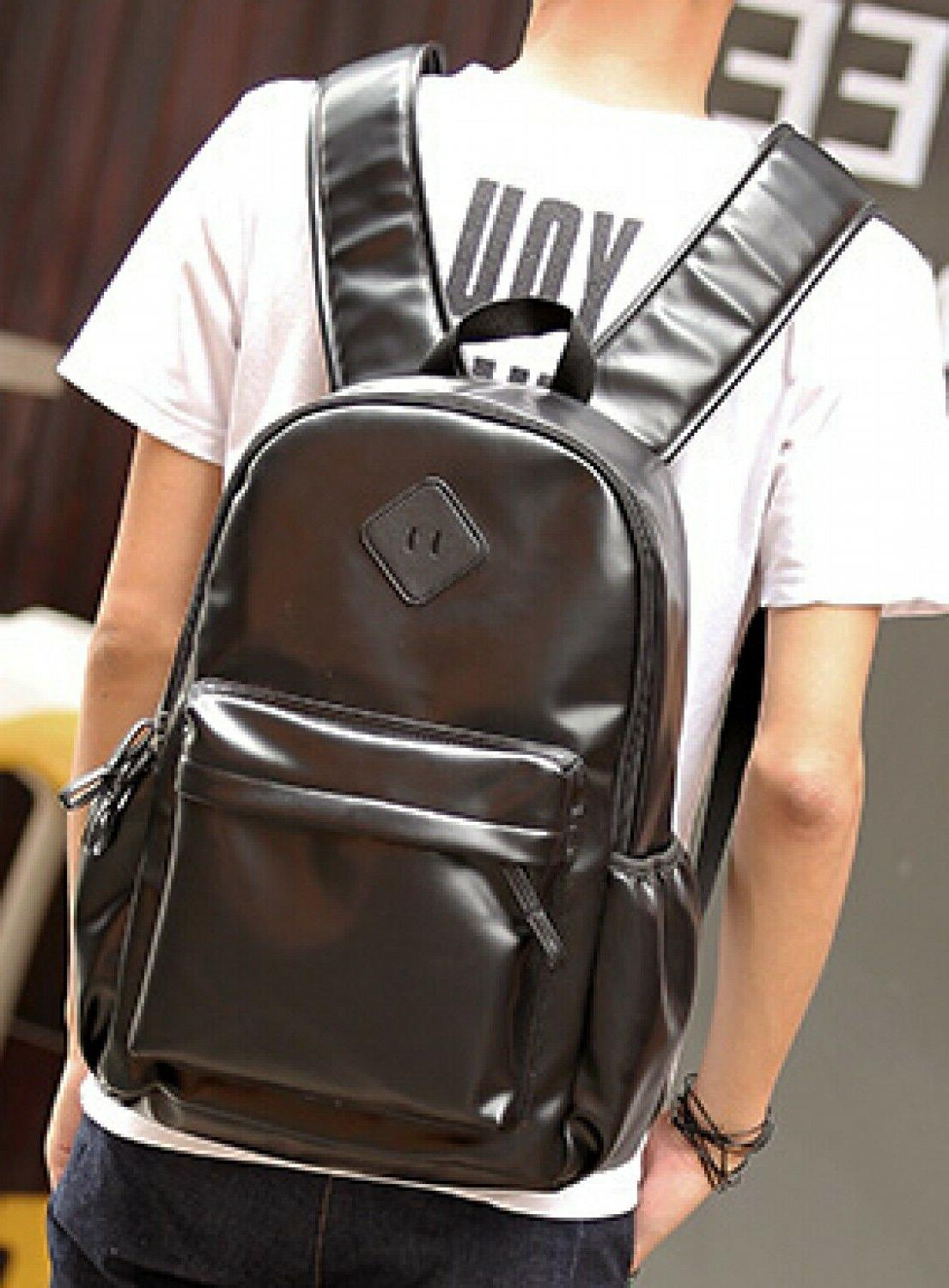 Men Fashion Backpack Travel Laptop Bags Mens Casual Formal W