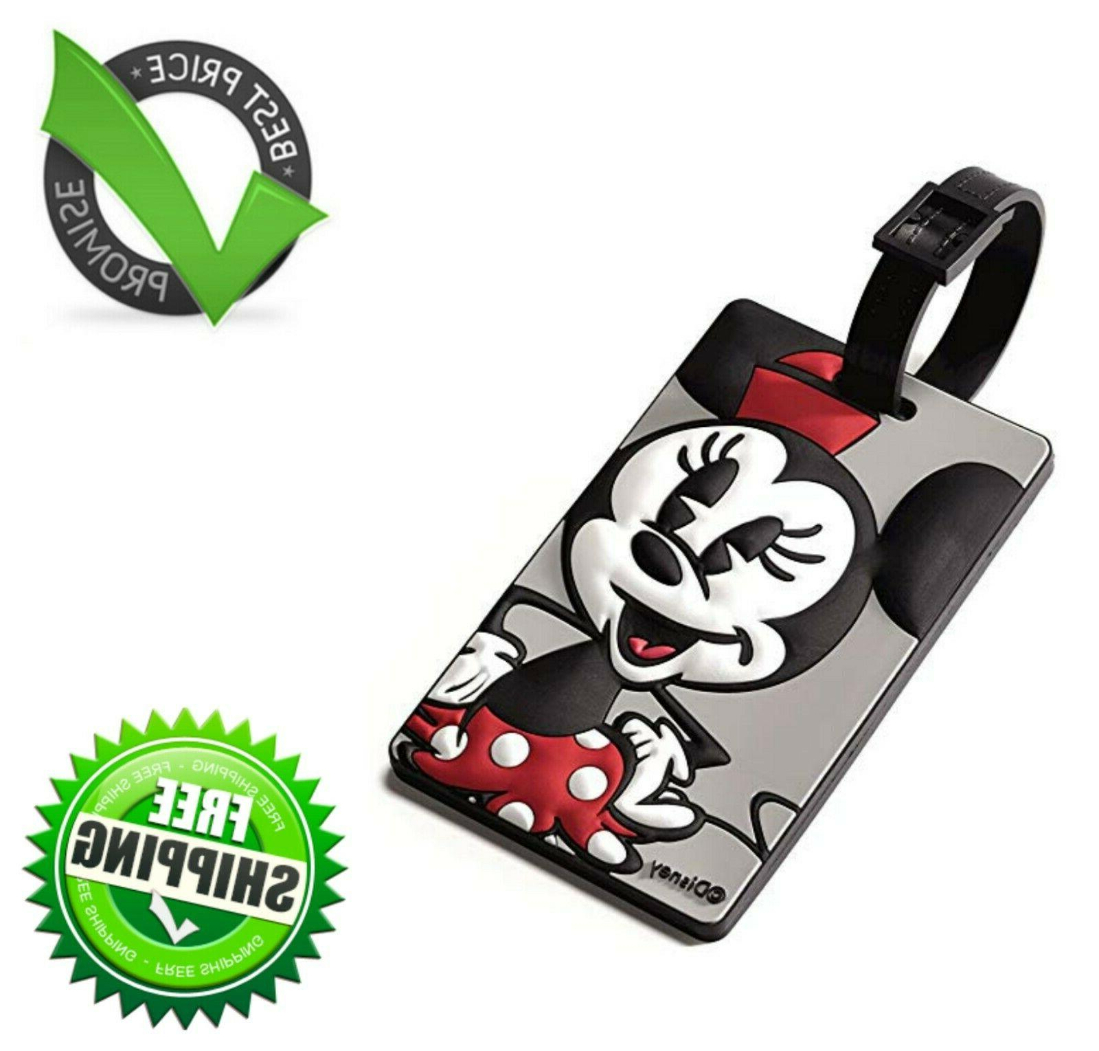 Minnie Mouse Travel Accessory Luggage ID Tag with Durable St