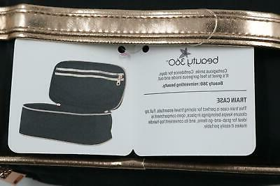 NEW Bundle Beauty Train Cosmetic Bag Up Women's