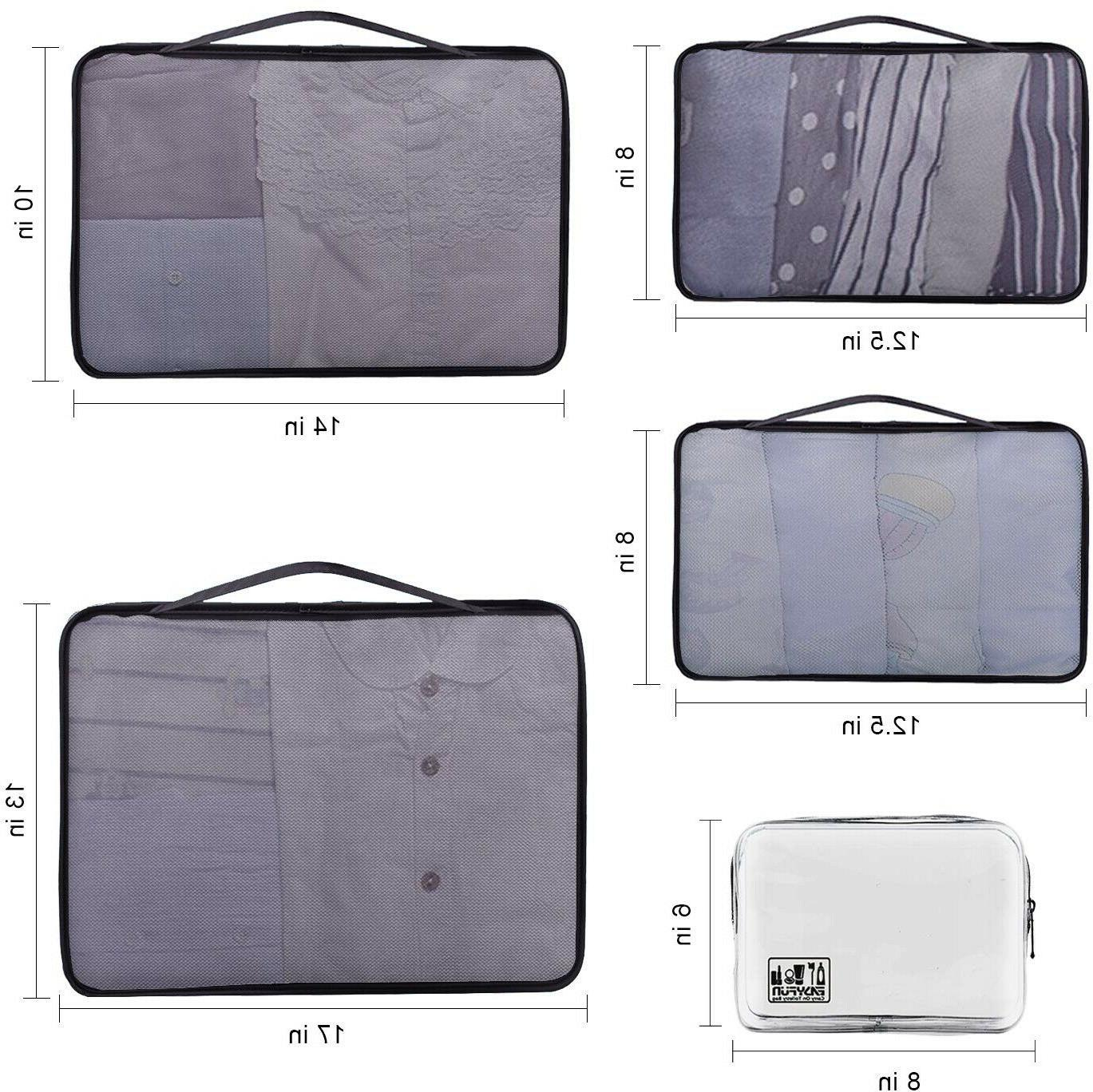 Packing Cubes Accessories Luggage With