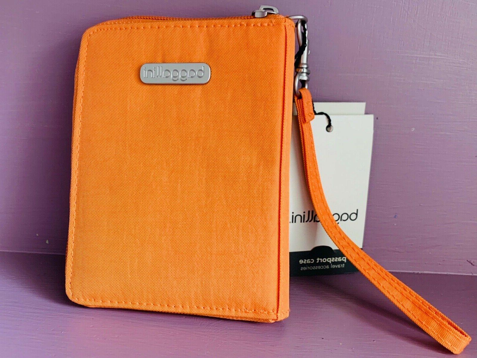 passport case clutch travel accessories rfid card