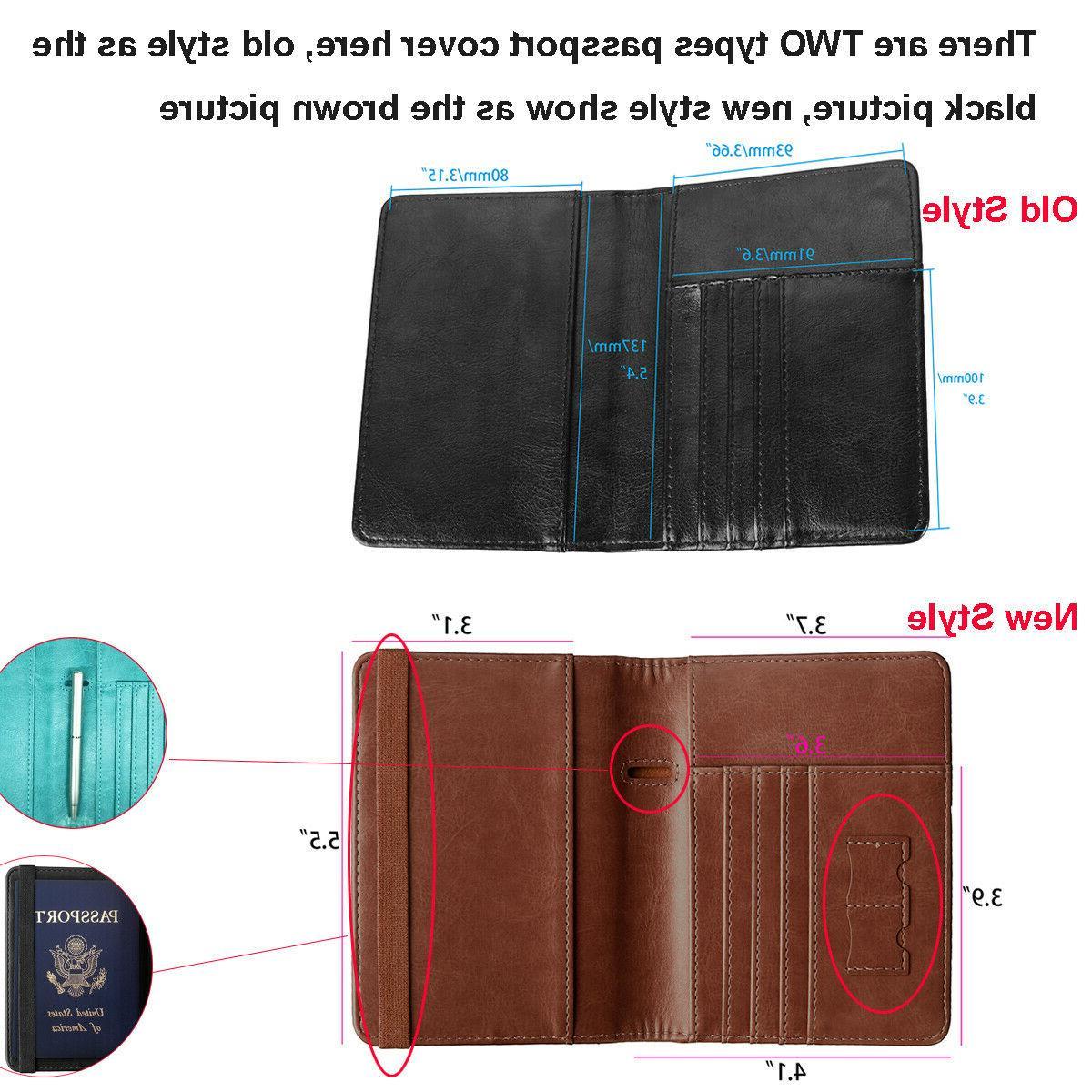 Premium Passport Travel Wallet ID