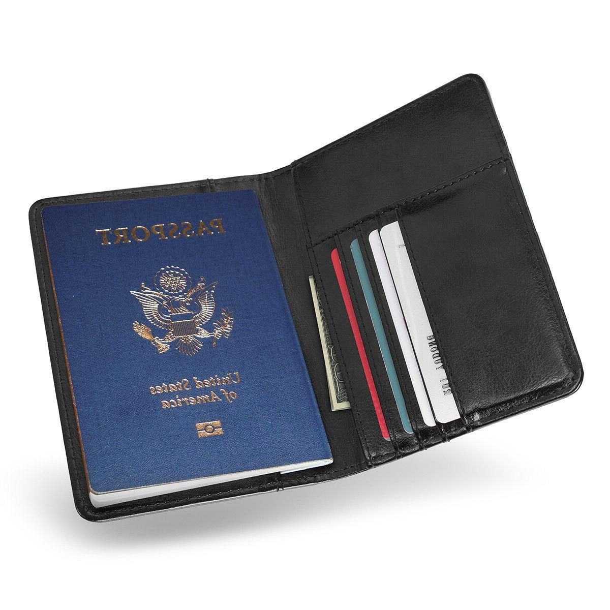 Premium Passport Travel ID Cover