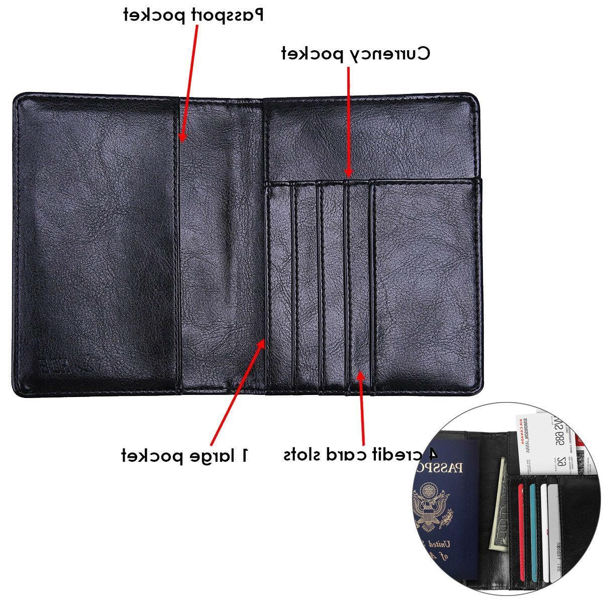 Premium RFID Passport Wallet ID Cards
